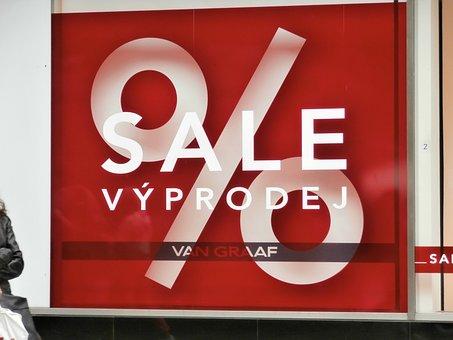 Discount, Shop, Closeout, Prague, Purchases