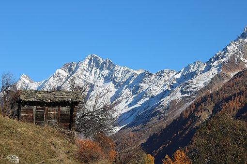 Switzerland, Lötschental, Alpine, Valais, Alp, Alm