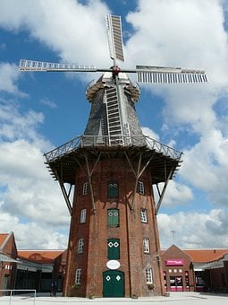Mill, Windmill, Wing, Wind, Wind Reel, Rotor, Turn