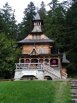Jaszczurówka, Chapel, Buried, Zakopane Style