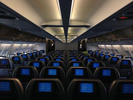 Airplane, Cabin, Passenger, Aircraft, Transportation
