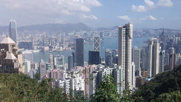 Hong Kong, Skyscrapera, City, Skyline, Architecture