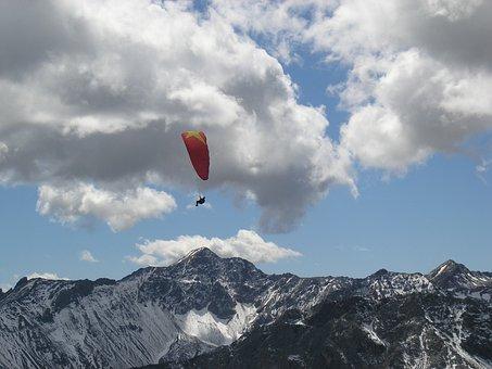 Arosa Paragliders, Glide Glider, Switzerland, Mountain