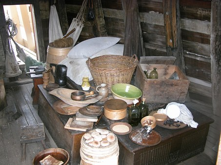 Baskets, Crockery, Stores, History, Storage, Bread