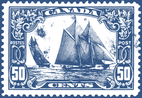 Bluenose, Boat, Canada, Canada's Finest Stamp
