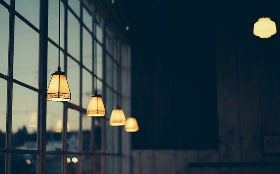 Bright, Bulb, Depth Of Field, Dusk, Electricity