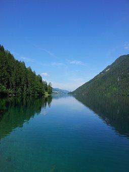 Lake Weissensee, Hospital At The Drau, Carinthia