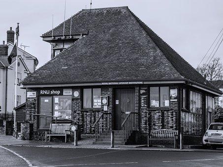 Rnli, Shop, Charity, Walton On The Naze, Essex