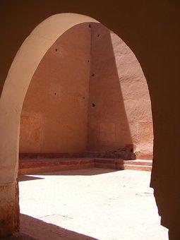 Medina, Morocco, Desert, Architecture, Ancient, Wall