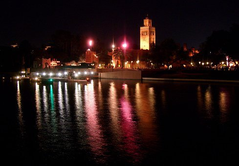 Disney, World, Florida, International, Pavilion, Water