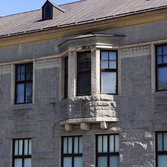Finnish, Mikkeli, Museum Of Art, Granite House