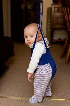 Baby, Bounce, Bouncer, Boy, Cute, Door, Fun, Hang, Jump