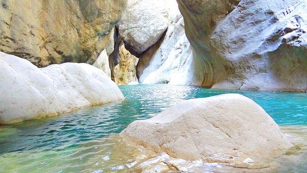 Turkey, Goynuk, Kemer, Summer, Canyon Goynuk, Canyon