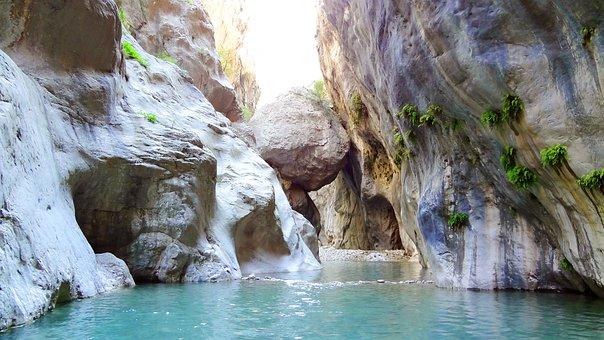 Canyon, Turkey, Goynuk, Kemer, Summer, Canyon Goynuk
