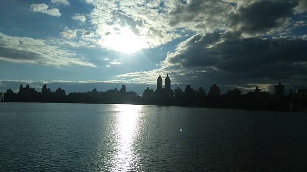Central Park, Kennedy Lake, New York, Afternoon, Water