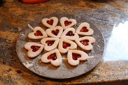 Food, Linzer Hearts, Cookie, Linzer, Dessert, Sweet