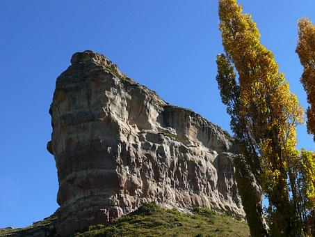 Sandstone Cliff, Mountain, Outdoor, Free State