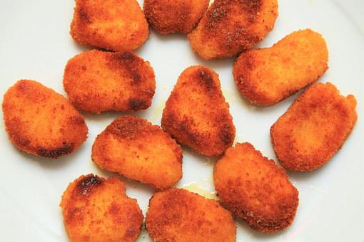 Vegetable Nuggets, Panade, Nuggets