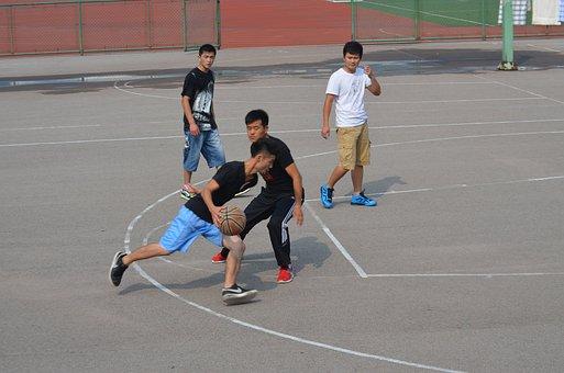 Basketball, Game, Sport, Sports, Pick-up, Playground