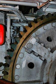 Gears, Wheels, Mechanism, Power, Motion, Engine