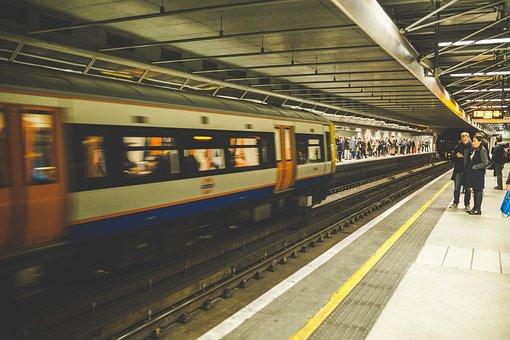 Platform, Railroad, Railway, Terminal, Train