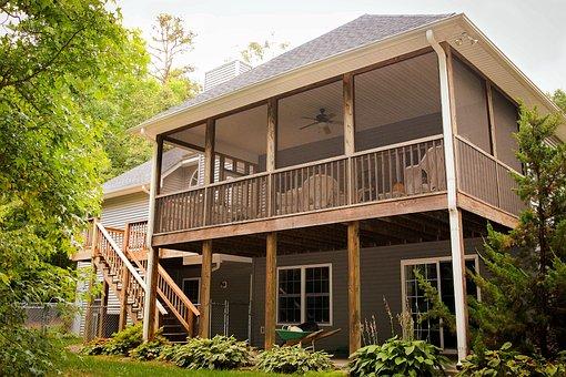 Back Porch, Rear Porch, Back Patio, Rear Patio, Deck