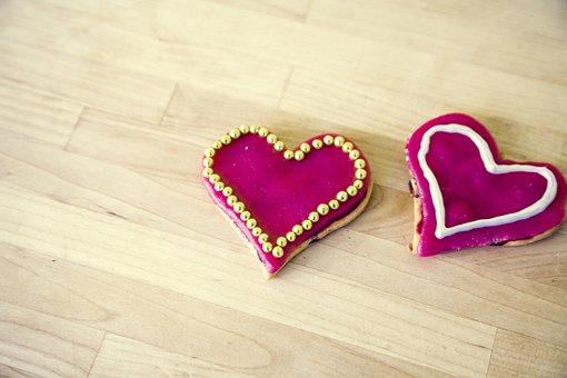 Heart, Herzchen, Love, Romance, Red, Luck, Brand