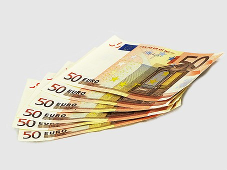 Tickets, 50, Eur, Money, Europe, France, Currency