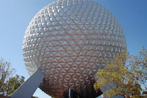 Disney World, Epcot, Vacation, Florida, Ball