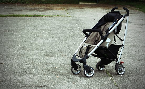 Baby Carriage, Buggy, Sun Buggy, Alone, Vehicle, Child
