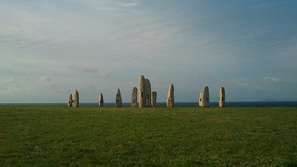 Coruña, Monument, Excursion, Walk, Field, Afternoon