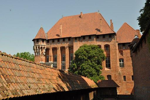 Malbork, Castle, Castle Of The Teutonic Knights