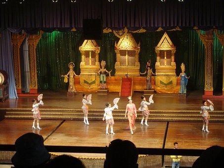 Dance, Performance, Culture, Show, Pattaya, Thailand
