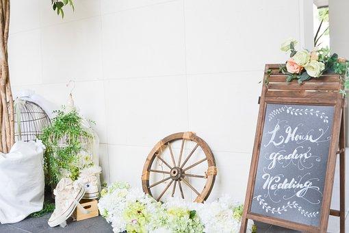 Wedding, Wheel, Welcome Board, Decoration, Details