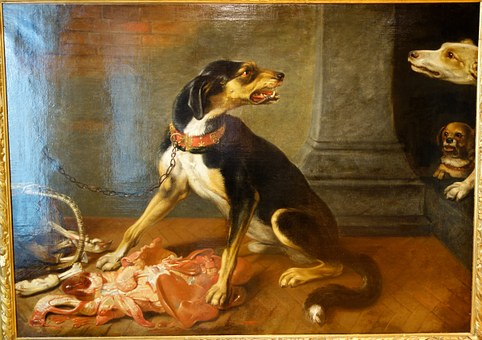 David De Coninck, Attacking, Dogs, Exhibit, Undated