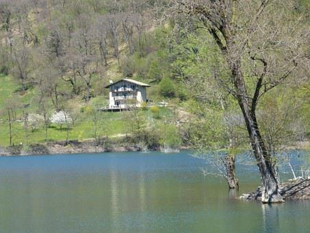 Tenno Lake, Lago Di Tenno, Italy, Water, Home, Lonely