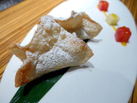 Fried Tofu, Japan Cuisine, And The Wind, Kaiseki