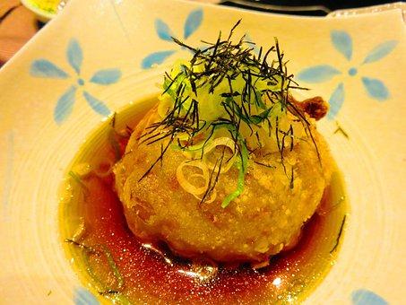 Fried Tofu, Kaiseki, Tofu, Gourmet, And The Wind