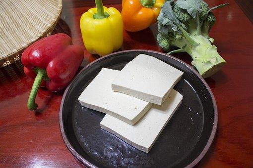 Slice The Tofu, Cut A Part Conveyance, Tofu, Korean