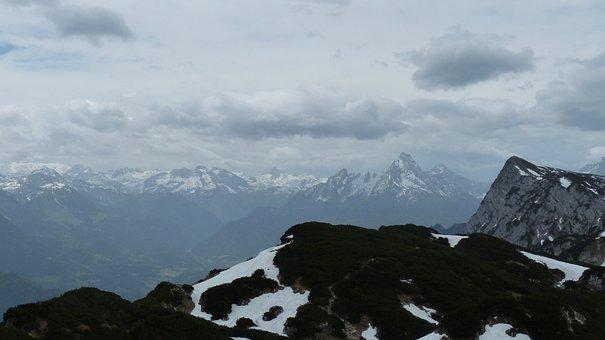 Watzmann, Mountain, Alpine, Massif, Berchtesgaden Alps