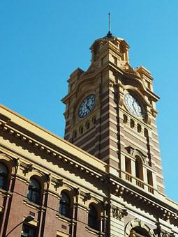 Melbourne, Tower, Train Station