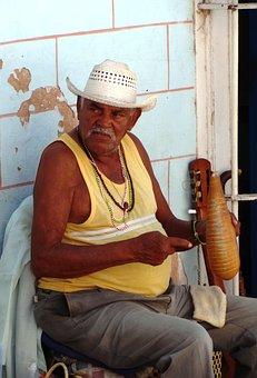 Music, Pace, Cuba, Person, Male, Street Musiciant