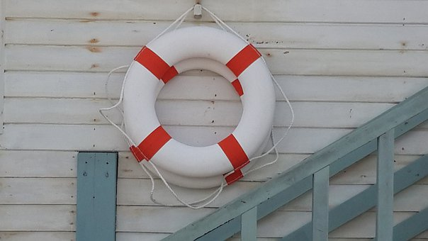 Lifeguard, Safety, Life Belt, Sea, Ocean, Water, Rescue