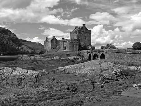 Scotland, Castle, Eilean Donan Castle