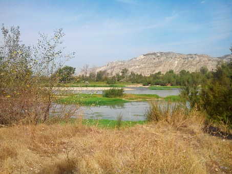 Ebro, Nature, Landscape, Spain, Summer, River