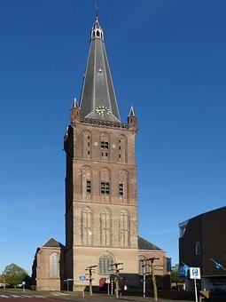 Clemenskerk, Steenwijk, Netherlands, Church, Tower