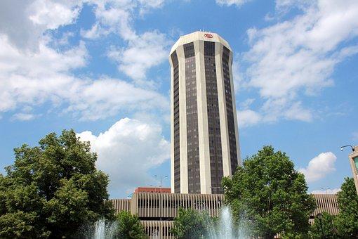Springfield, Usa, Illinois, Circular Tower
