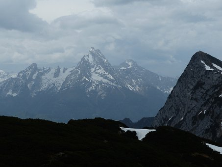 Watzmann, Mountain, Alpine, Massif, Berchtesgaden Alps