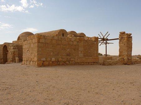 Qasr Amra, Amra, Jordan, Holiday, Travel, Middle East