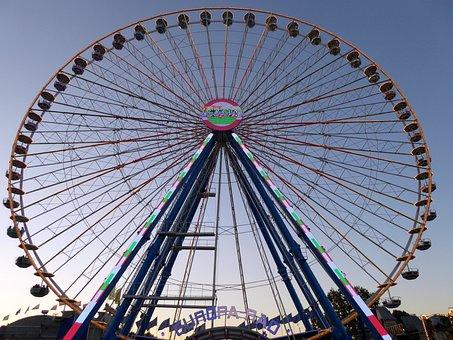 Ferris Wheel, Stuttgart, Bad Cannstatt, Wasen